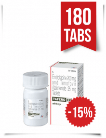 Tafero-EM by Hetero 180 Pills