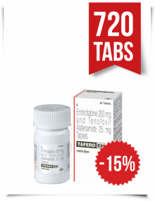 Tafero-EM by Hetero 720 Pills