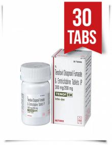 Tenof-EM by Hetero 30 Pills