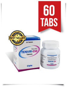 Tenvir-EM by Cipla 60 Pills