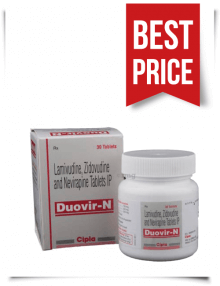 Buy Duovir N Tablets by Cipla Generic Zidovex-LN Online