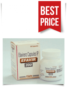 Buy Efavir 200mg from India Generic Stocrin or Sustiva