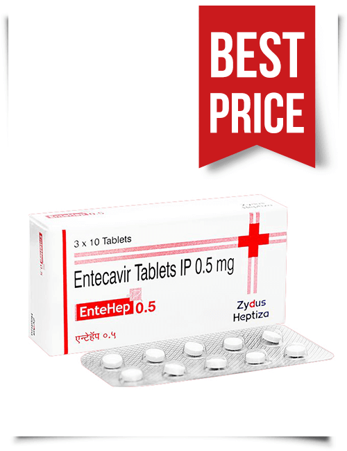Buy EnteHep Generic Baraclude from India Entecavir 0.5