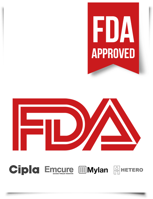 FDA Approved Indian HIV AIDS Drugs