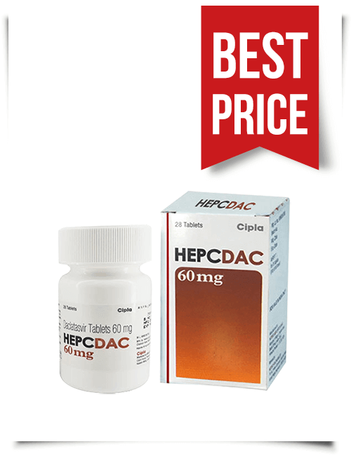 Buy Hepcdac Online Cheap Generic Daklinza from India