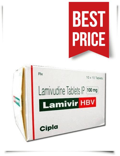 Buy Lamivir HBV Tablets Online Lamivudine 100mg
