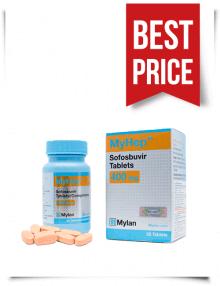 Buy Myhep Online Generic Sofosbuvir 400mg from India