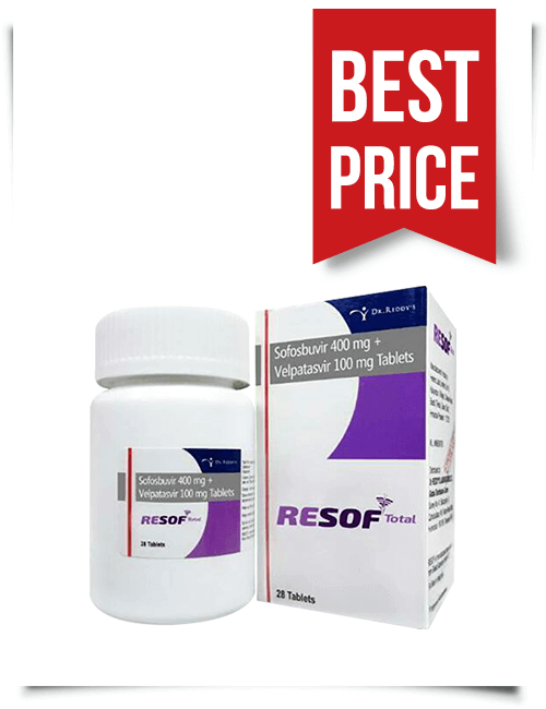 Buy Affordable Epclusa Generic Resof Total from India