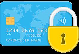 Safe Credit Card Payment Secured SSL