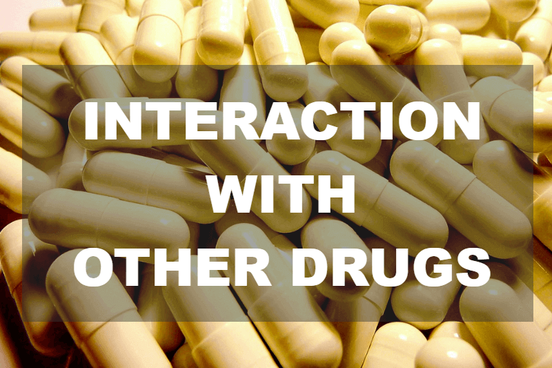Interaction with other drugs