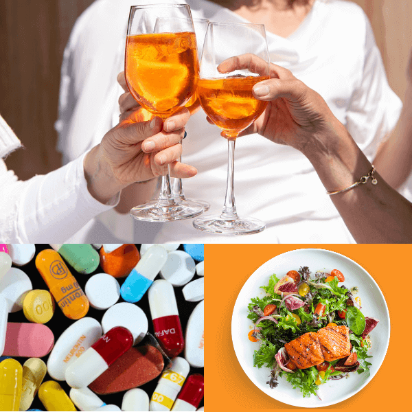Interactions with alcohol, food and other drugs