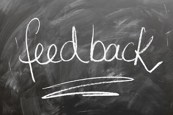 Leave feedback