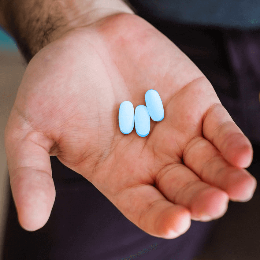 Man takes pills for PrEP